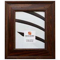 "Craig Frames 2.75"" Wide Rustic Country Brown Picture Frames & Poster Frames"