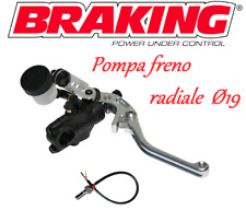 BRAKING KIT POMPA FRENO RADIALE SILVER RS-B1 19mm BENELLI TRK 502 ABS / X
