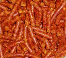 [£4.49/100g] PAPRIKA STICKS Pellets f Shrimps Fish Catfish Fish Food Feed Fooder