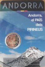 ANDORRA 2 Euro commemorative coin 2017 - The Pyrenean country - BU blister