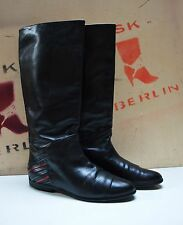 POLATO Damenstiefel  Reiter Stil Boots 90er TRUE VINTAGE 90´s Stiefel stivali