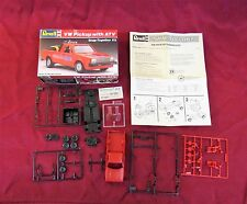 Vintage 1988 Revell 1/32 Scale VW Pickup Truck With ATV Model Kit