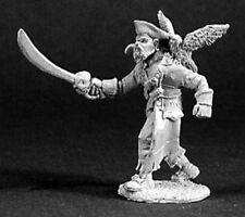 Dark Heaven Legends Reaper 03224 Arven Scarhull Pirate Captain