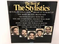 The Stylistics The Best Of The Stylistics Vinyl UK 1974 Avco LP Greatest Hits