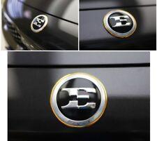 Round 24K Gold Plated E Logo Front Hood Emblem Badge For 2018 2019+ Kia Stinger