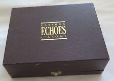 Vintage L 'Arome ecos Estuche de muestras perfume, con muestras y papeleo.