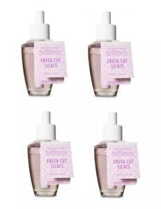 Bath & Body Works Fresh Cut Lilacs Wallflower Bulb x4 Refill Spring Air/Greens