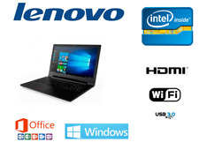ORDENADOR PORTATIL LENOVO INTEL / 8GB RAM 1 TB / WINDOWS 10 + OFFICE