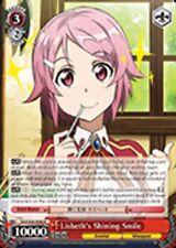 Weiss Schwarz Lisbeth's Shining Smile - SAO/S26-046 - R 1x Near Mint