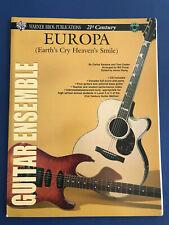 Europa(Earth's Cry Heaven's Smile), for Guitar Ensemble, Santana, arr. Bill Purs