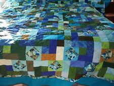 Home Made King Quilt Sea Turtles