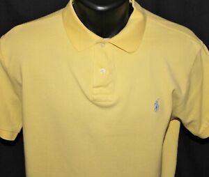 Ralph Lauren Polo Custom Fit Pique Cotton Polo Large