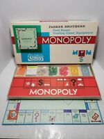 Vintage Monopoly Parker Brothers Board Game 100% Complete 1961