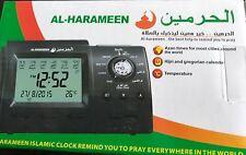Alharameen Azaan Clock-hijri & gregorian calender,azaan times for most cities