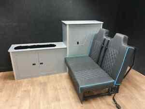 Lightweight Ply Camper Campervan Conversion Interior Kitchen Cupboard VW Vivaro