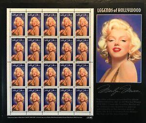 1995 Scott #2967 - 32¢ Marilyn Monroe - Legends of Hollywood - Sheet of 20 - MNH