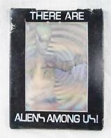 There Are Aliens Among Us 1991 Fantasma Outsiders Report Holographic 8 Card Set