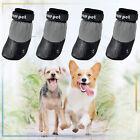 4Pcs Pet Dog Socks Anti-slip Belt Traction Control Waterproof Claw Protector S-L
