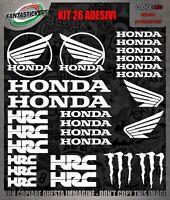 Kit adesivi honda per moto gp stickers casco cbr 600 1000 cb1000r hornet pres...