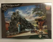 "New Sealed 1000 Piece Jigsaw Puzzle ""Whistle Stop"" - MasterPieces"