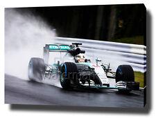 """LEWIS HAMILTON CANVAS PRINT POSTER PHOTO PICTURE  30""""x20"""" ART F1 MERCEDES 2015"""