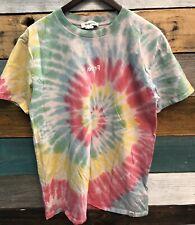 Desigual Tie Dye Gender Neutral LGBTIQ Pride T-shirt Size Medium