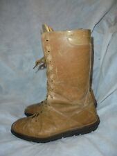 BALLY  WOMEN'S TAN LEATHER GLADIATOR LACE UP MID CALF BOOTS SIZE UK 6 EU 39 VGC