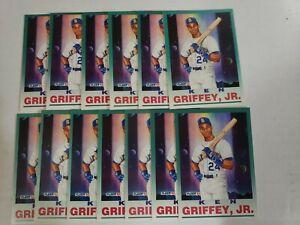 13 ct Lot 1992 FLEER Pro Vision KEN GRIFFEY JR