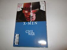 X-MEN   CIVIL WAR 124 .MARVEL .PANINI ..2007.  TBE