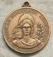 American Numismatic Association 73rd Convention, Cleveland Medal, 1964
