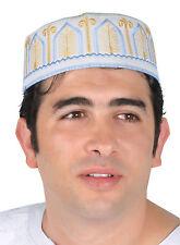 Traditionelle Arabische Herren Kopfbedeckung Fasching Mütze Mehrfarbig-KB0036