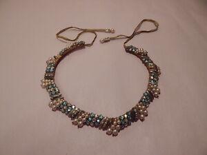 Vintage Leni Kuborn-Grothe Handmade in Austria Necklace Pearl Choker