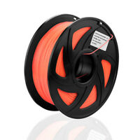 PLA Filament für 3D Drucker Printer 1,75mm/1kg Spule Trommel Leuchtende Orange