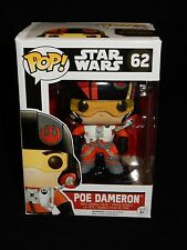 Funko POP! Star Wars Poe Dameron Vinyl Bobblehead Figure #62