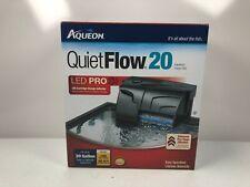 Aqueon Quiet Flow 20 LED Pro Aquarium Power Filter for Tanks up to 30 Gallons