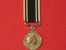 Miniature Prison Service LSGC Medal with ribbon in Mint Condition