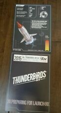 2014 ITV THUNDERBIRDS PROMOTIONAL PROMO CARD FOR UPCOMING 2015 TV SERIES