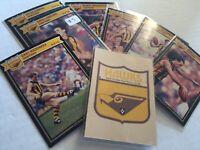 1987 HAWTHORN AFL / AFL SCANLENS Cards...Team Set - 3 Unmarked Check List