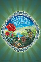 GRATEFUL DEAD - TERRAPIN COUNTRY - MIKE DUBOIS ART POSTER - 24x36 - MUSIC 9983