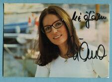 Nana Mouskouri   Autogrammkarte   (#1)