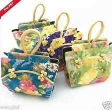 Wholesale 6pcs Chinese Handmade Vintage Cloth Shape silk Handbag Wallet Purse