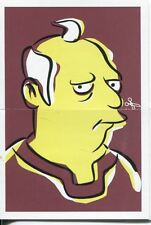 Simpsons Mania Dr. Marvin Monroes Split Personality Chase Card F7