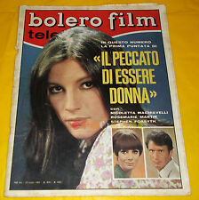 BOLERO FILM 1967 n. 1055 Nicoletta Machiavelli, Virna Lisi, Johnny Dorelli