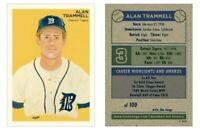 Alan Trammell HOF Detroit Tigers Limited Edition Art Baseball Card ACEO 1-100
