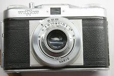 Wirgin Edina 120 Camera Wiesbaden 1:3.5/43 - Works w/Case - Clean - Vintage K14