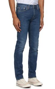 Genuine LEVIS Mens 511 Slim Fit Dark Blue Stretch Denim Jeans