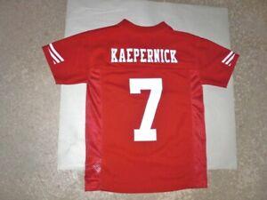 San Francisco 49ers COLIN KAEPERNICK Football Jersey youth Small NEW Never Worn