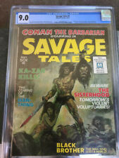 SAVAGE TALES #1 CGC 9.0 OW/WH 1ST MAN-THING -#2-4 HIGH GRADE COPIES RAW
