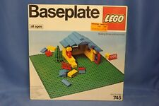 NEW Sealed Lego Baseplate, #745, vintage, 1977