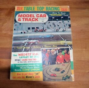 Vintage Model Car & Track Slot Car Racing Magazine July/Aug 1964